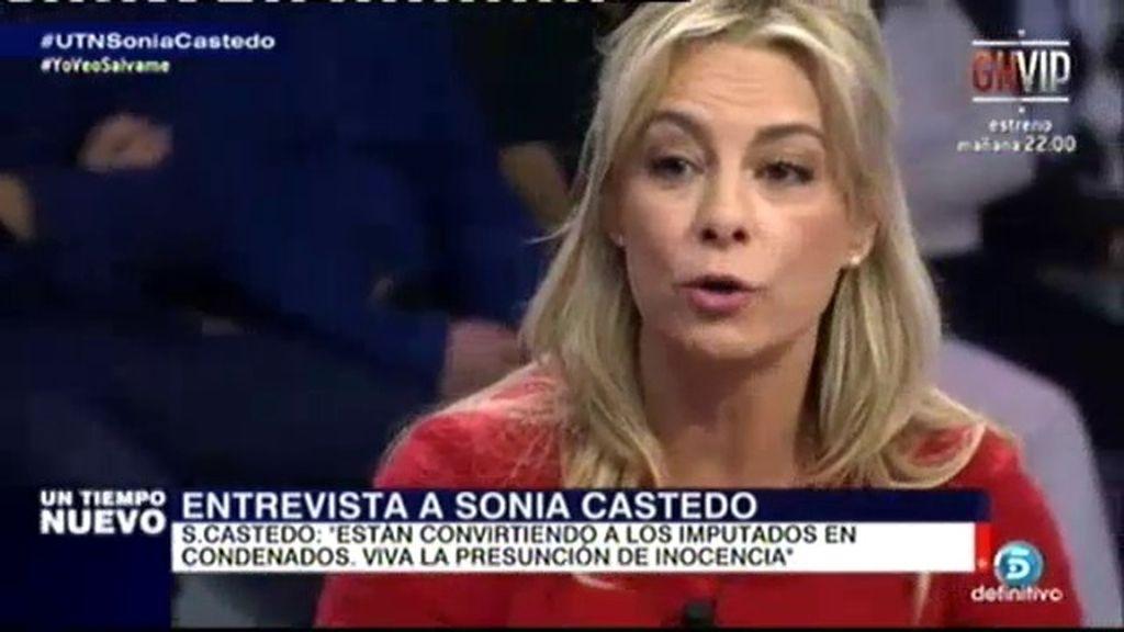 "Sonia Castedo: ""Imputar a una persona cuesta un recorte de periódico"""