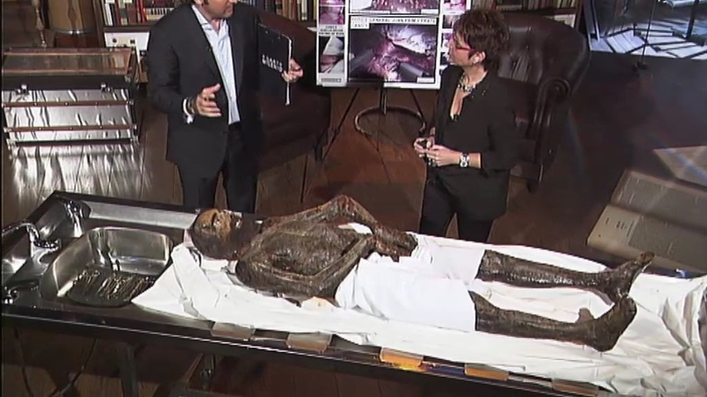 La momia de Prim, analizada en plató