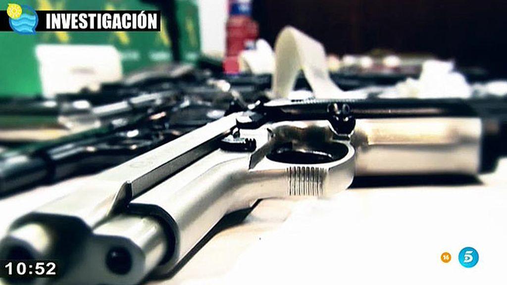 Compra - venta de armas al alcance de todos en la red