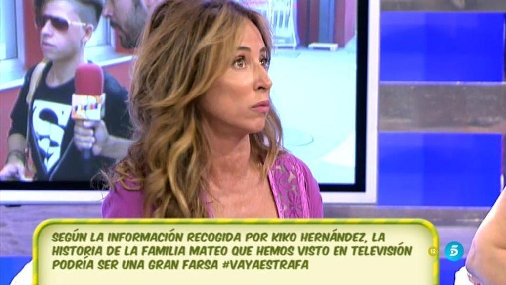 Mª Luisa y su hijos estaban dispuestos a pagar por salir en televisión, según Patiño