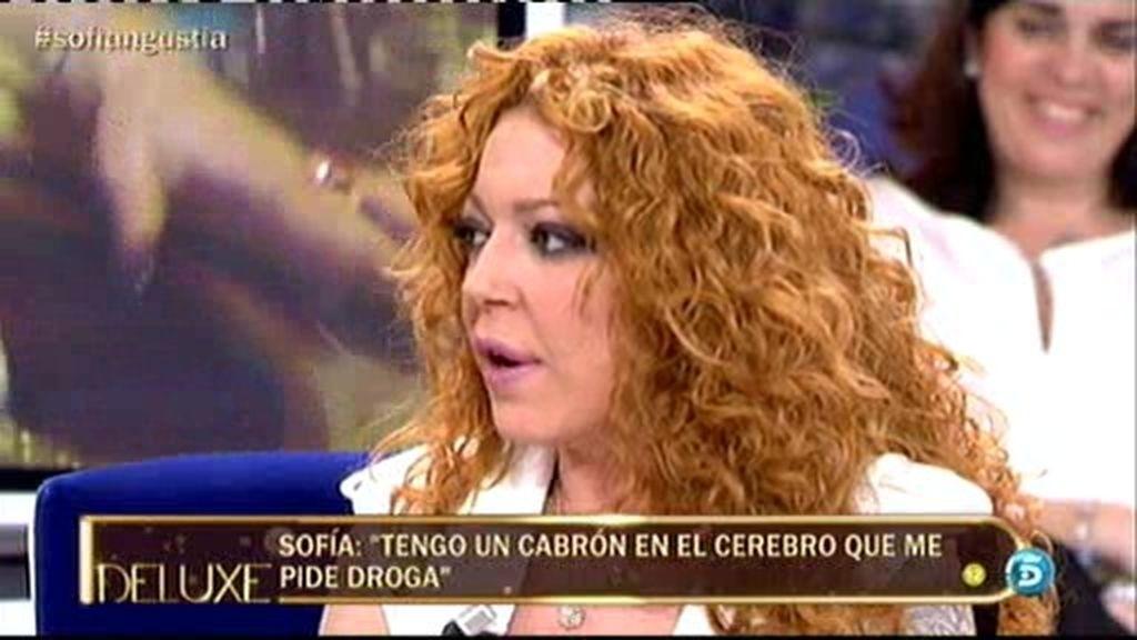 """Sofía Cristo: """"Tengo un cabrón en el cerebro que me pide droga"""""""