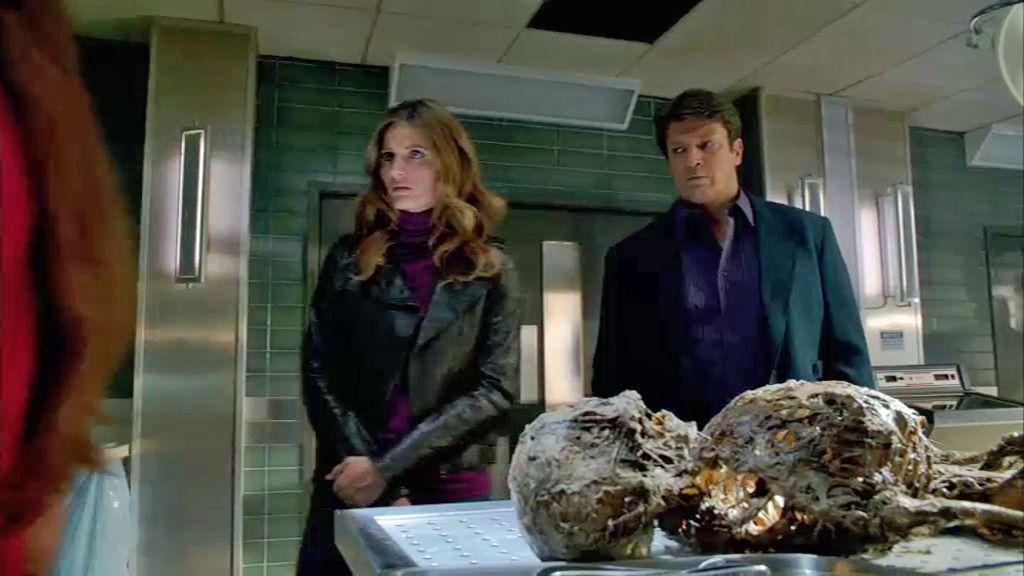 Castle tiene un plan loco para reconstruir el cadáver de Vince Bianchi