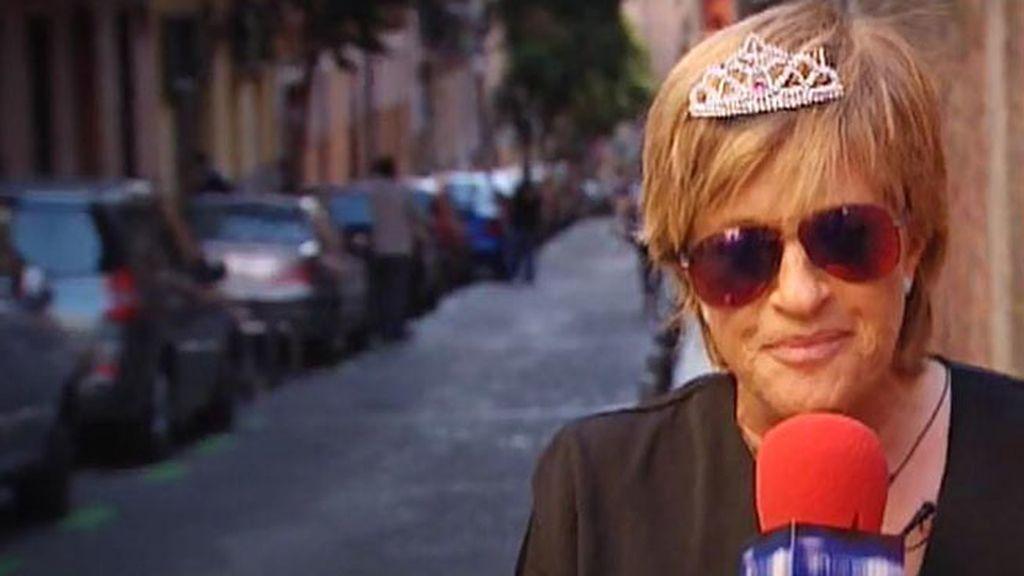 Chelo García-Cortés sigue los pasos de la Reina Letizia, en 'Diario Ché'