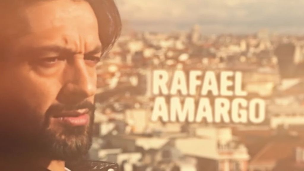 """Rafael Amargo: """"He aprendido que el miedo es cuestión de un segundo"""""""