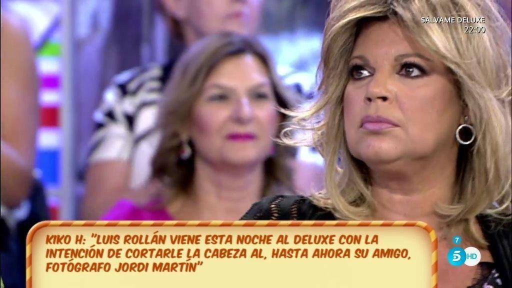 """Terelu Campos: """"Pondría mis manos en el fuego por Luis Rollán"""""""