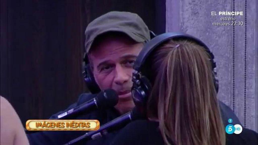 """Laura Matamoros, a Carlos: """"Me gustaría llegar a la final contigo y con Raquel"""""""