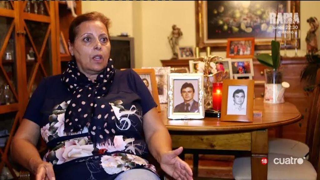 """El equipo de 'UTN' habla con una viuda del Comando Vizcaya: """"Nos destrozaron la vida"""""""