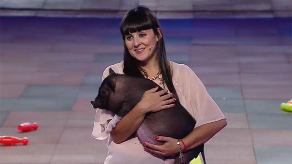 ¡Selina viene a '¡Vaya fauna!' con un cerdo 'mini pig' y se va con uno vietnamita!
