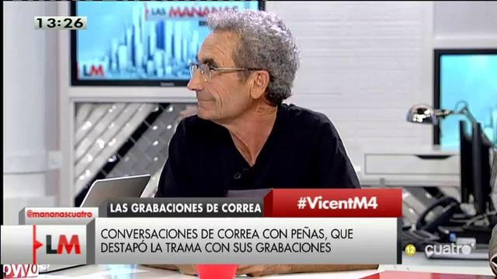 """Vicent Martí: """"La gran mayoría de los políticos van al protagonismo y llenarse los bolsillos"""""""
