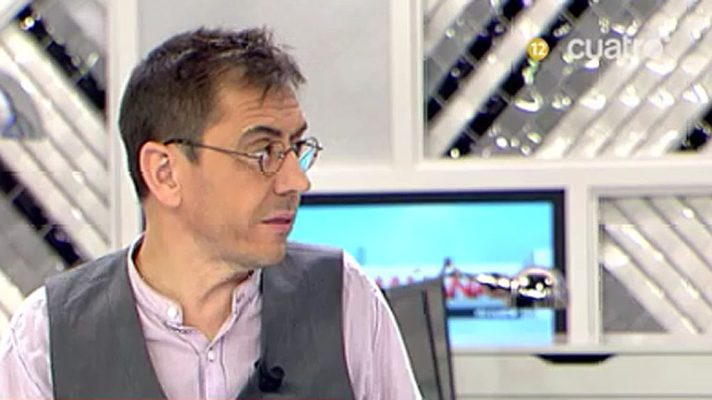 """Monedero, sobre Iglesias: """"Una persona que ha condenado la violencia de ETA no puede ser el interlocutor de la banda"""""""