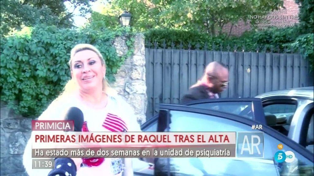 """Raquel Mosquera vuelve al trabajo tras su ingreso: """"Mi familia es mi gran apoyo"""""""