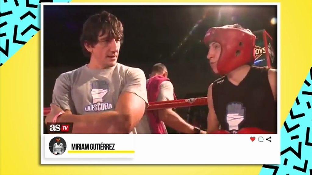 """Miriam: """"Jero García cuidaba de mi hija para que yo pudiera entrenar boxeo"""""""
