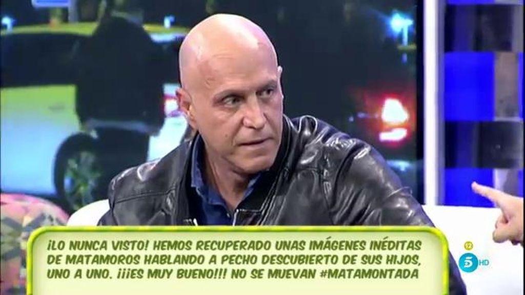 """Kiko Matamoros: """"En el relato el único que se cuestiona soy yo"""""""
