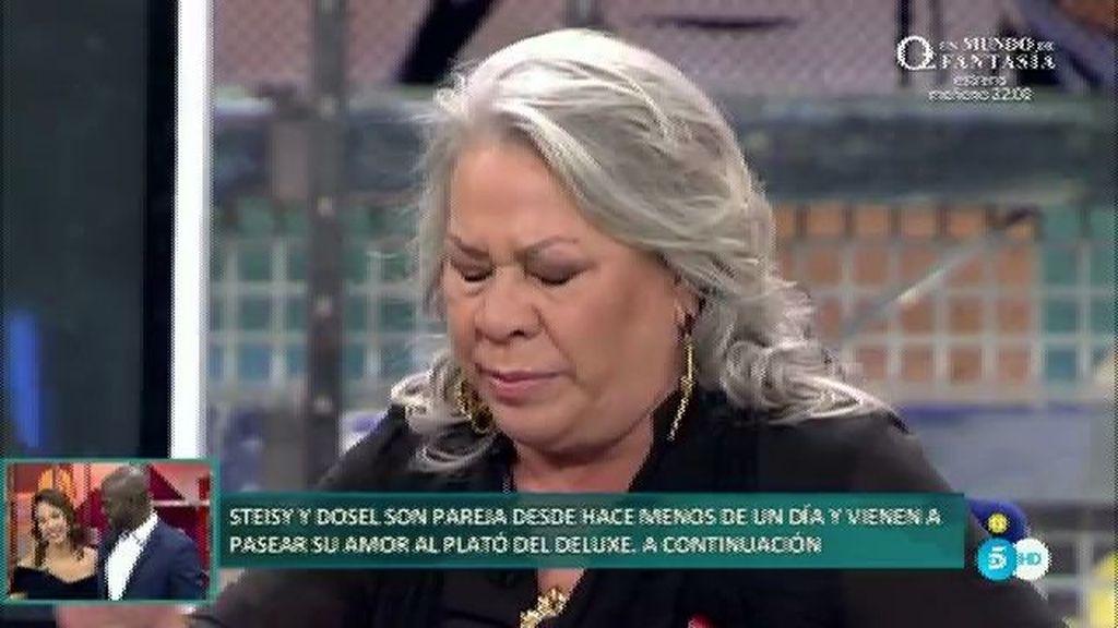 El desgarro de pecho de Carmen Gahona no le permitía respirar bien en la entrevista