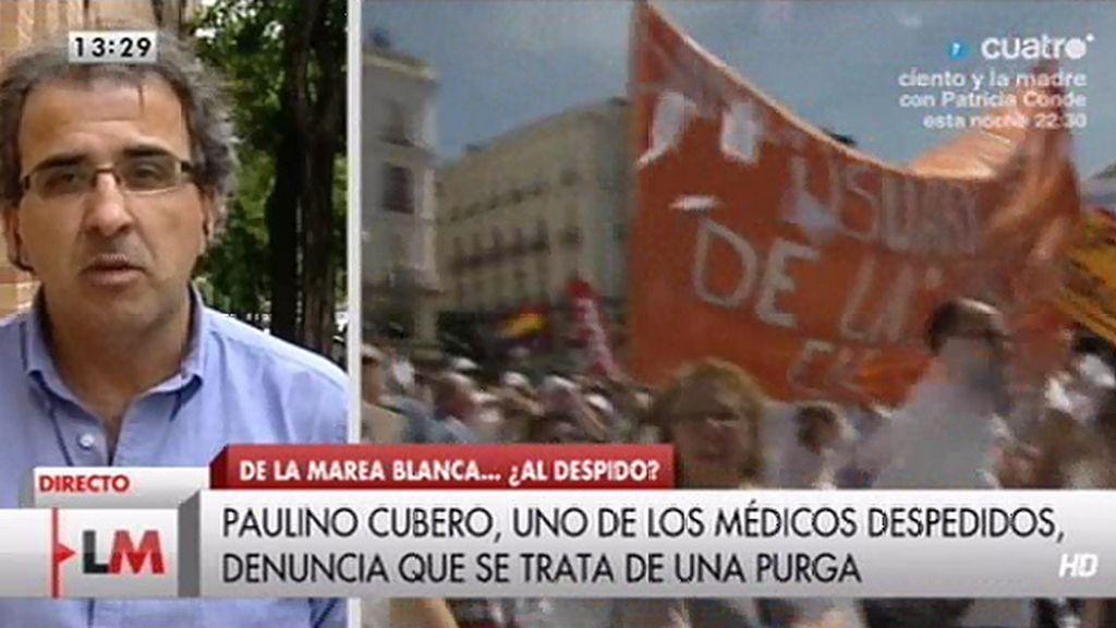 """""""Ayer fui cesado con 3 compañeros, 2 nos significamos en las protestas por la privatización"""""""