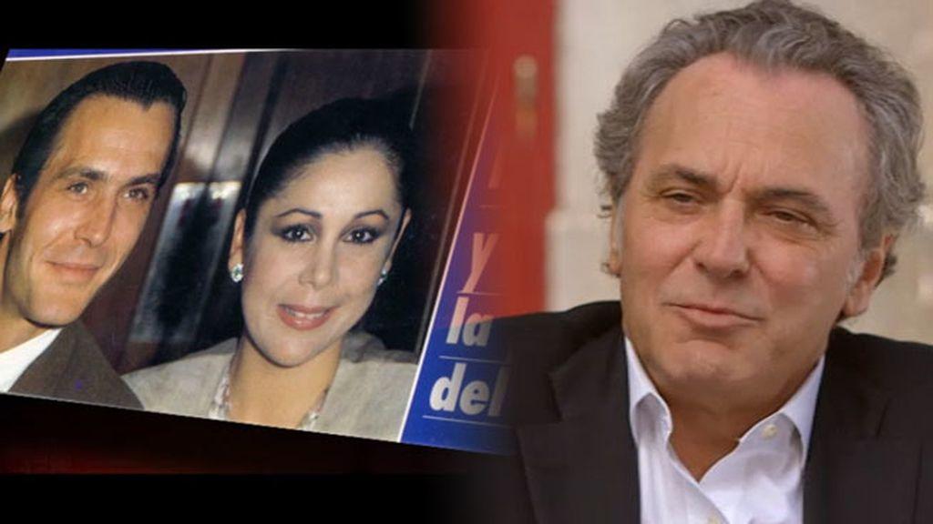 """Jose Coronado: """"Recuerdo a Isabel Pantoja con cariño, es maravillosa"""""""
