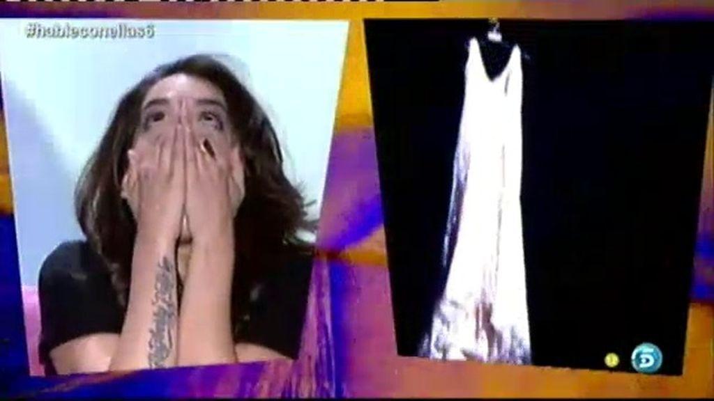 ¡Ruth recibe el vestido de Eurovisión!