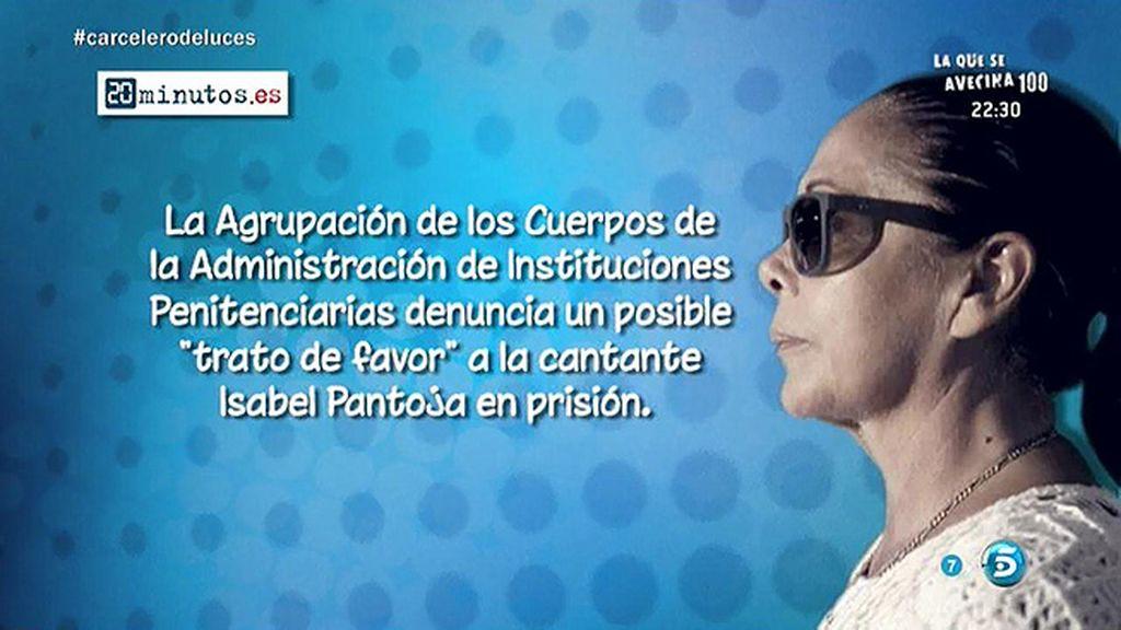 Denuncian un posible trato de favor a Pantoja en prisión, según 20 minutos