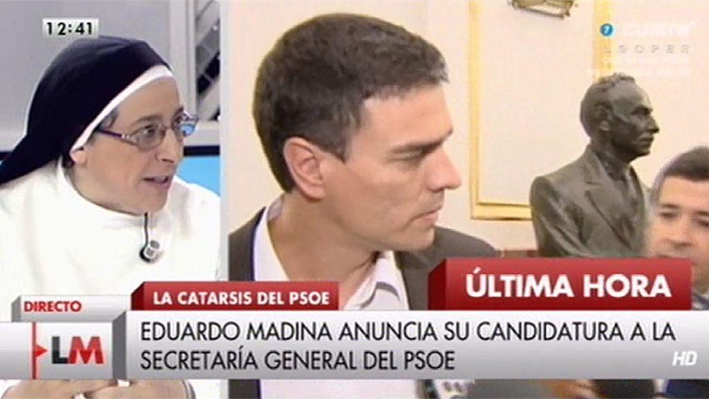 El 'desencuentro' de Sor Lucía Caram y Pedro Sánchez