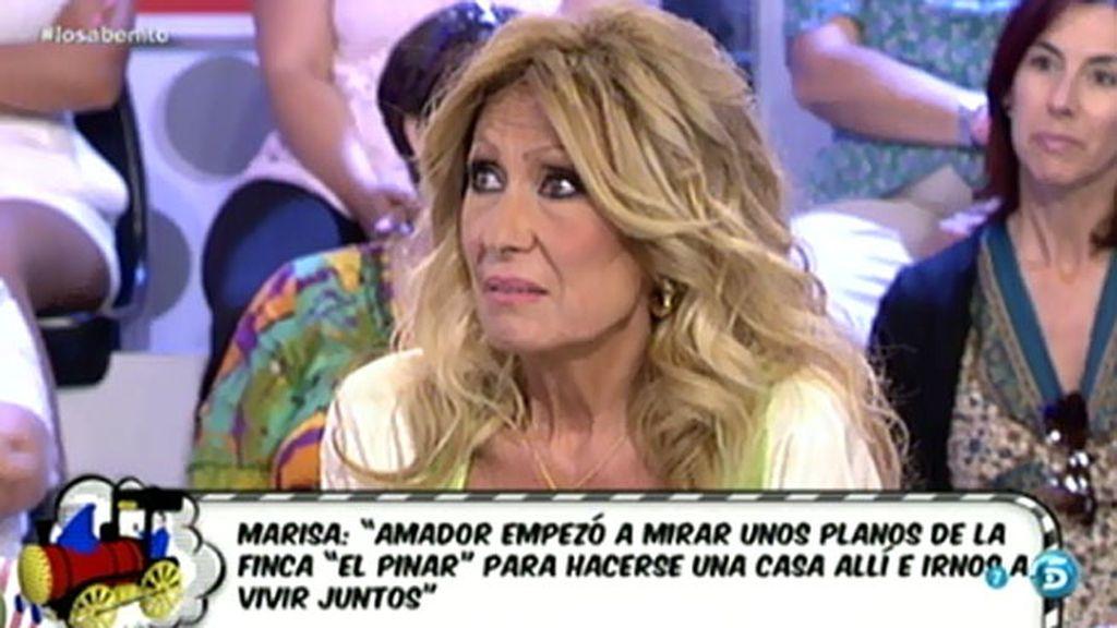 """Rosa Benito: """"Me dicen que Amador está demandando"""""""
