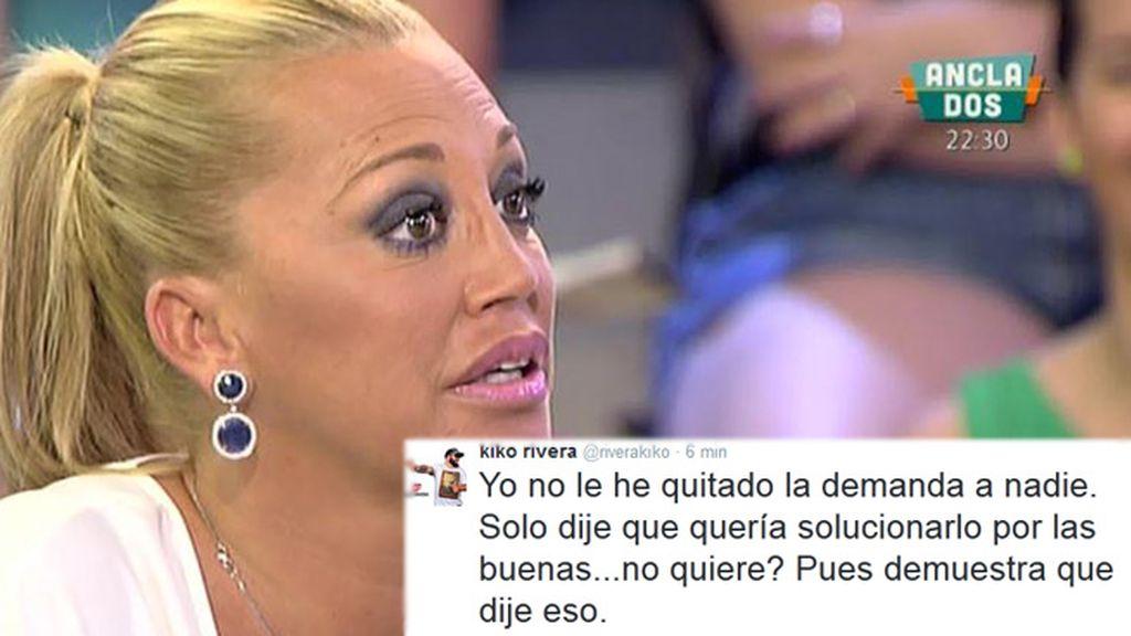 """K. Rivera, a Belén: """"No existen las imágenes, tendrás que demostrarlo ante un juez"""""""