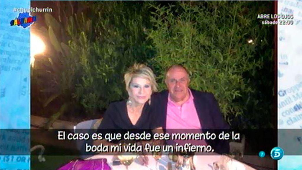 "Diego Soto: ""Conocí a Karmele en una red social, nos casamos por interés económico"""