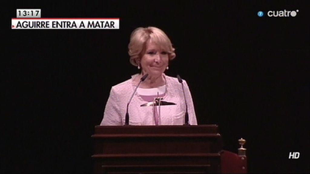 """Esperanza Aguirre: """"El 2014 está siendo mi año más temerario"""""""