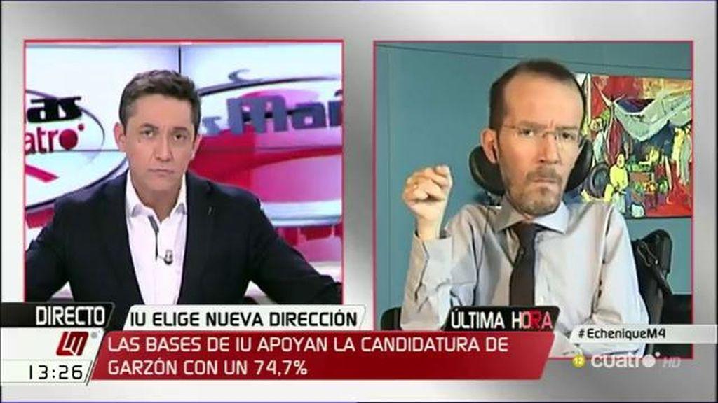 La entrevista íntegra con Pablo Echenqiue en 'Las mañanas de Cuatro', a la carta