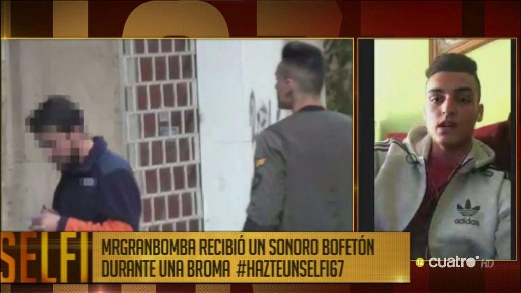 """'Hazte un selfi' conecta en directo con el youtuber MrGranbomba: """"Estoy arrepentido"""""""