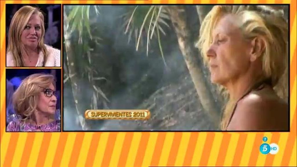 ¿Habló o no habló Rosa Benito de su familia en 'Supervivientes'?