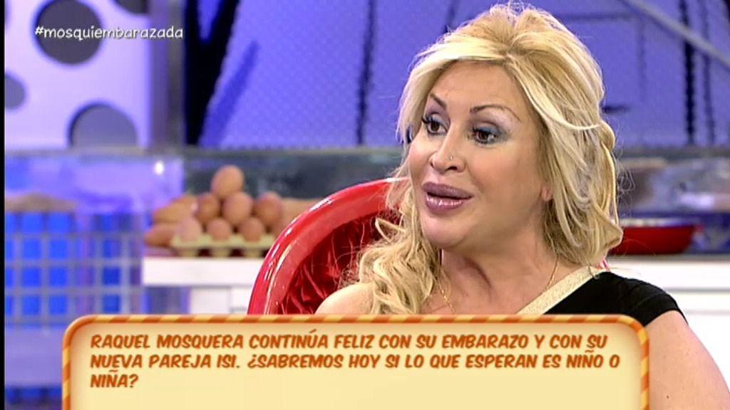 """Raquel Mosquera: """"Me he enamorado de una personas que me hace muy feliz"""""""