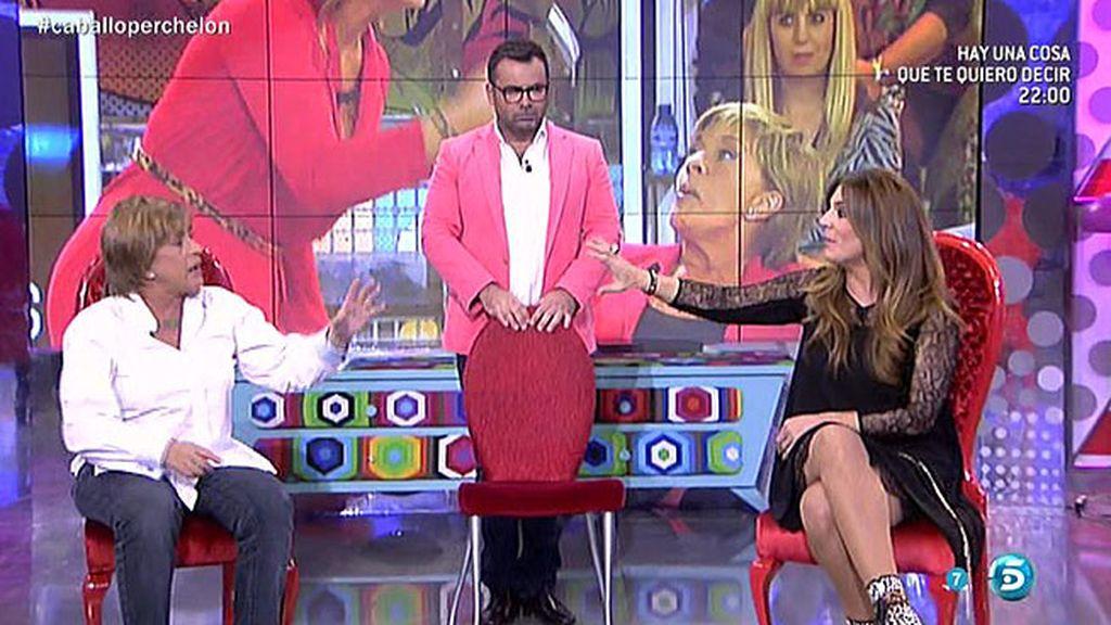 """Raquel Bollo, a Chelo G. Cortés: """"Por tu culpa sufrí un mes de castigo en casa"""""""