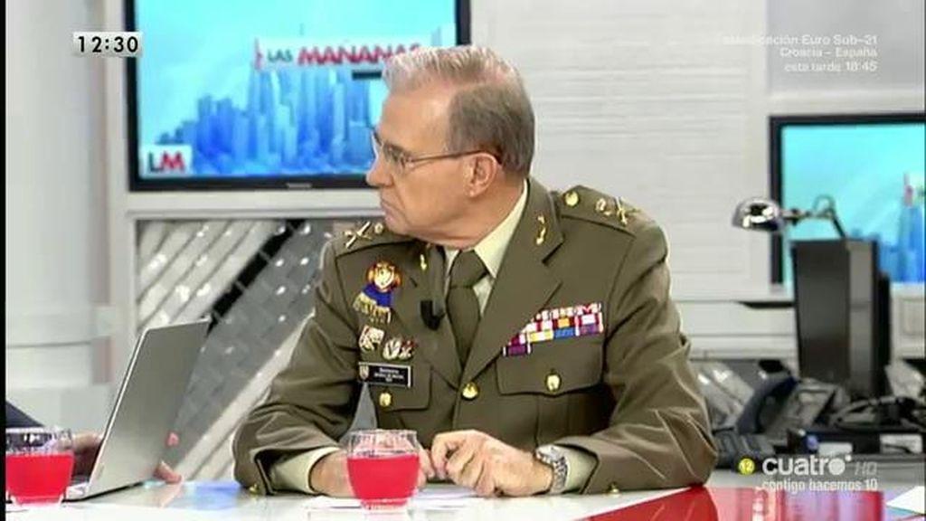 """M.A. Ballesteros, General: """"La seguridad absoluta no existe pero no tiene por qué haber más atentados"""""""