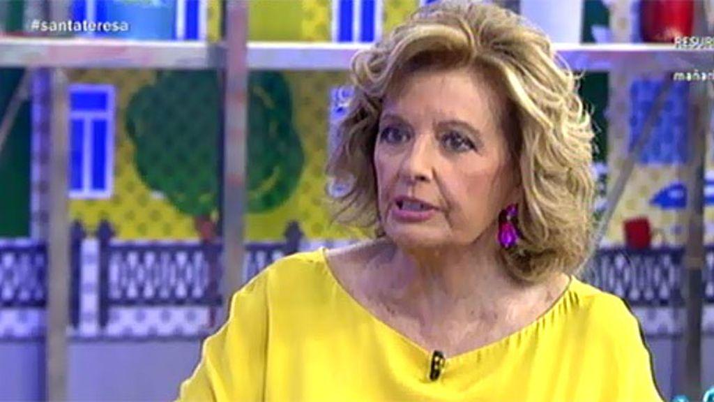 """Teresa opina sobre el encuentro de Rosa y Amador: """"Ella tiene sentido del espectáculo"""""""