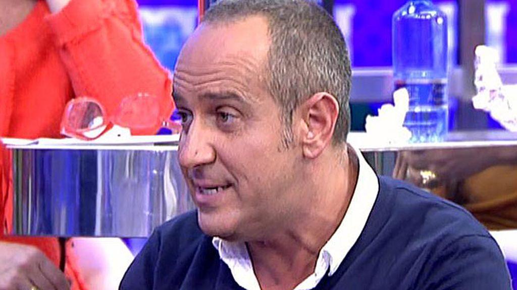 """Víctor Sandoval: """"Estoy con Belén Esteban como antes, a muerte con ella"""""""