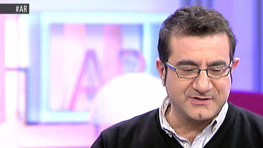 """Sergio Fernández: """"Las madres se ponen a mi porque quieren dejar el pabellón bien alto"""""""