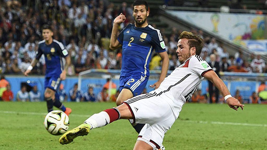 El minuto 112 pasa a la historia de Alemania