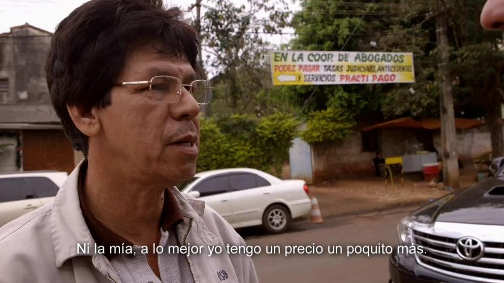 """Crispín, captador de mujeres en Paraguay, a 'Infiltrados': """"Tu vida no vale nada aquí"""""""