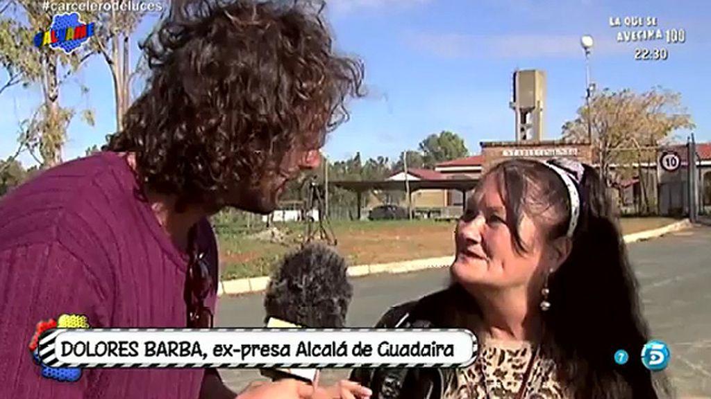 """Dolores, expresa de Alcalá de Guadaíra: """"Vino a darnos un beso a todas y se le saltaron las lágrimas"""""""
