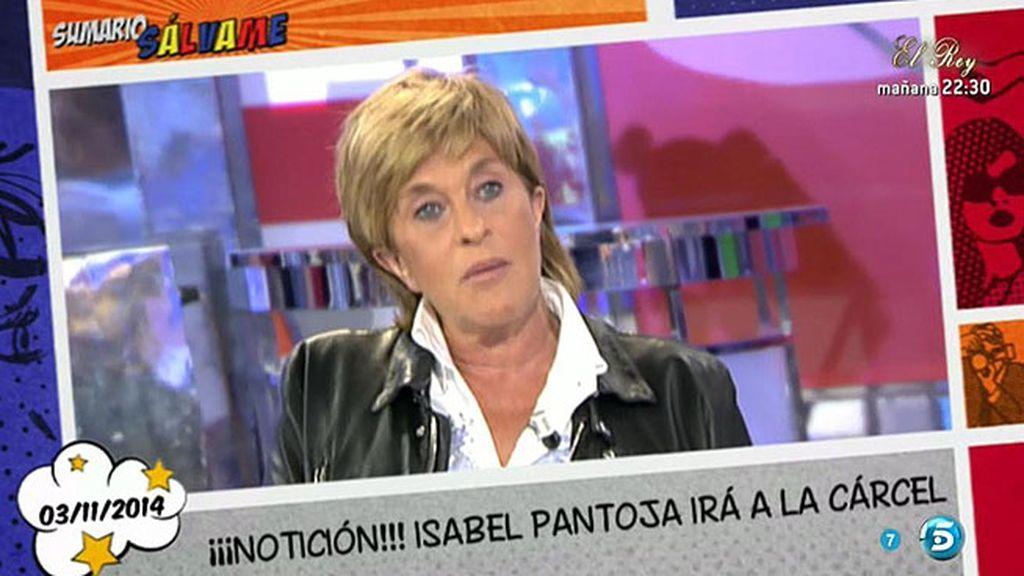 """Chelo G. Cortés: """"Estoy convencida de que Isabel Pantoja entrará en prisión"""""""
