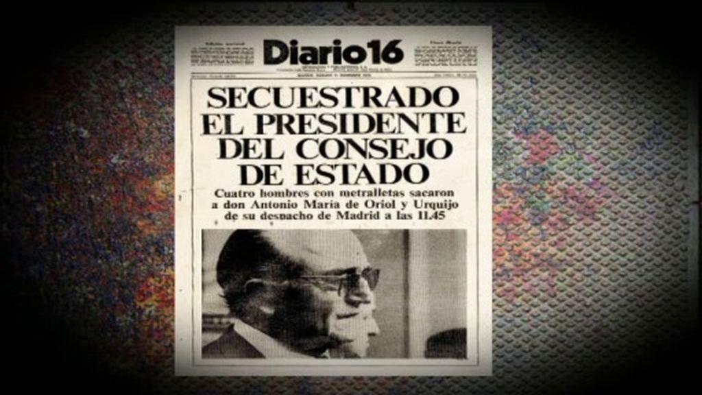 El terrorismo que sufrió Adolfo Suarez: ETA, GRAPO y extrema derecha