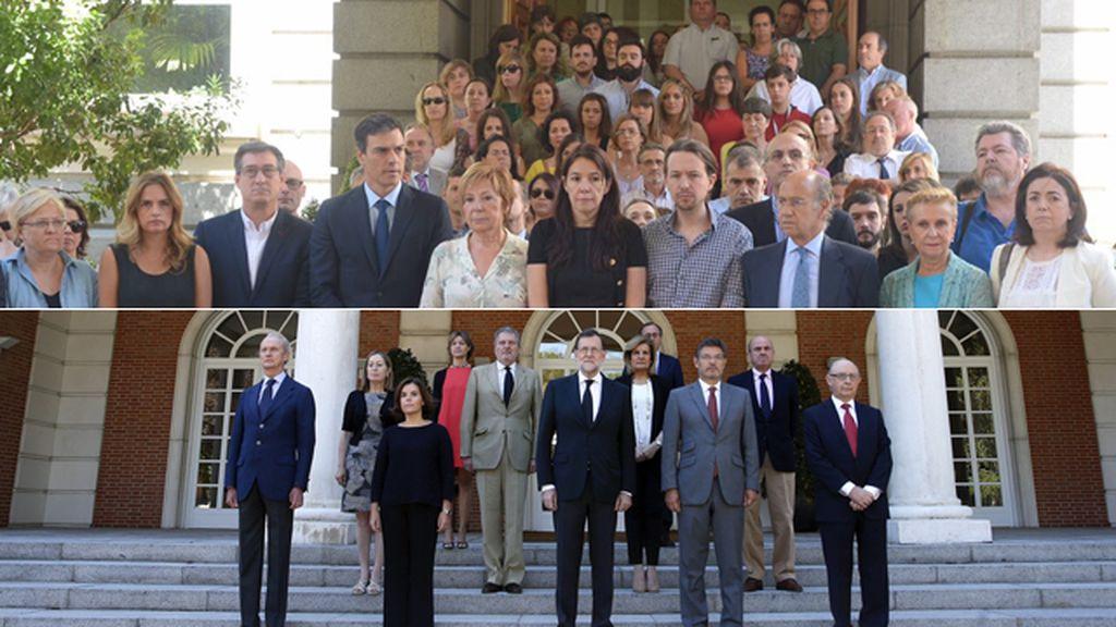 España se une contra la barbarie terrorista y en solidaridad con el pueblo francés