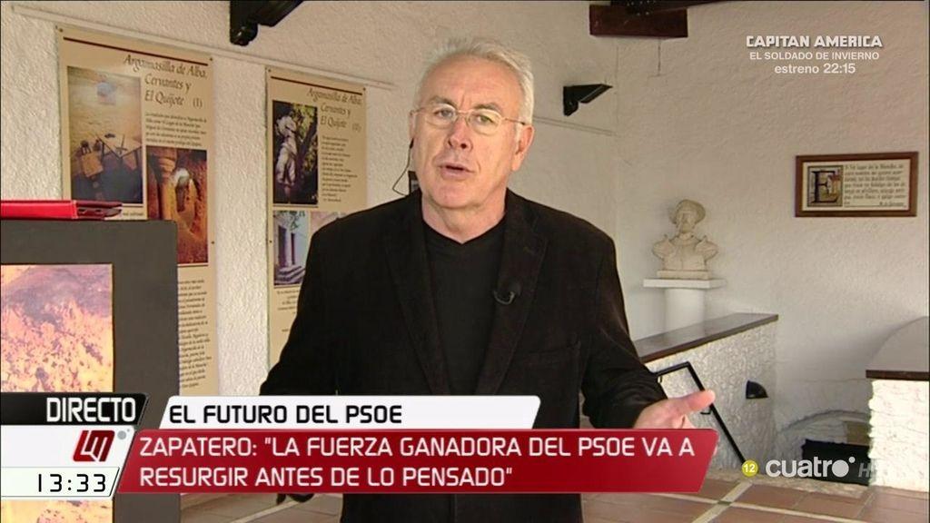 """Cayo Lara, sobre la crisis de PSOE: """"Zapatero está meando fuera del tiesto"""""""