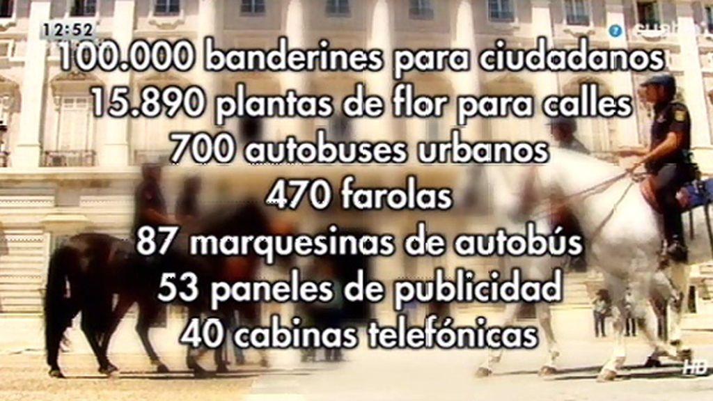 Madrid se prepara para la proclamación de Felipe VI