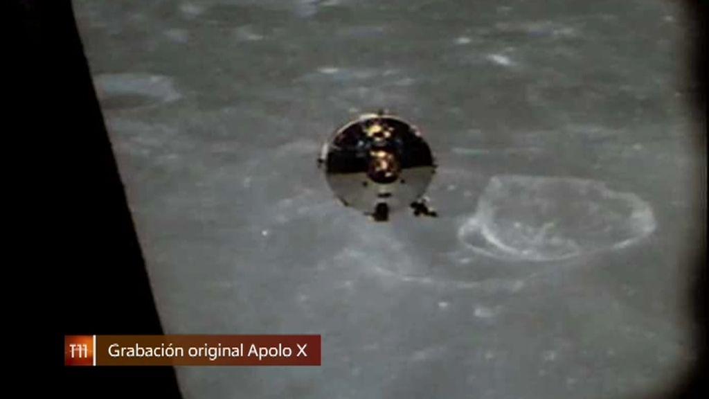 La misteriosa grabación del Apolo X en la Luna que está dando la vuelta al mundo