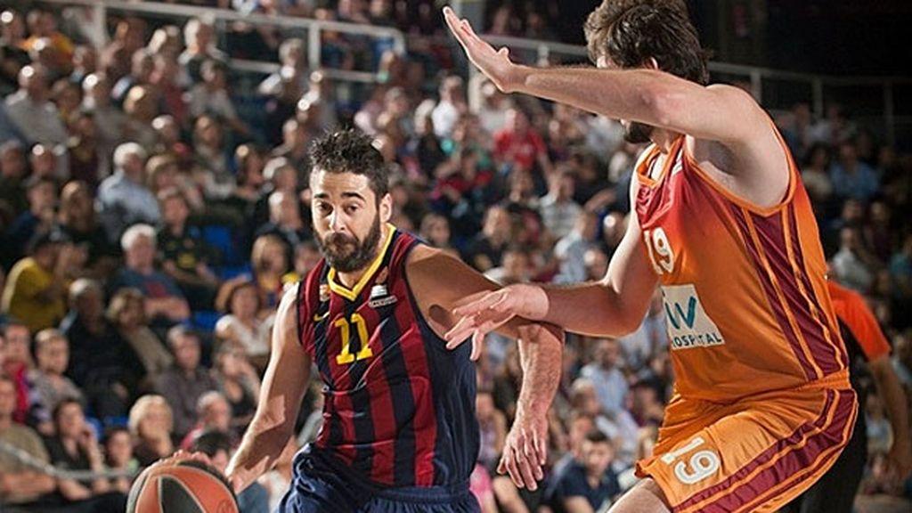 El Barcelona aplasta al Galatasaray (88-61) y toma ventaja en los cuartos de final