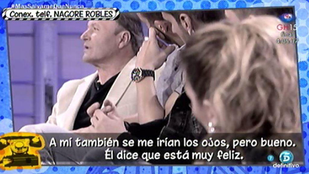 """Nagore Robles: """"A Amador se le van los ojos con las chicas, está en su salsa verde"""""""
