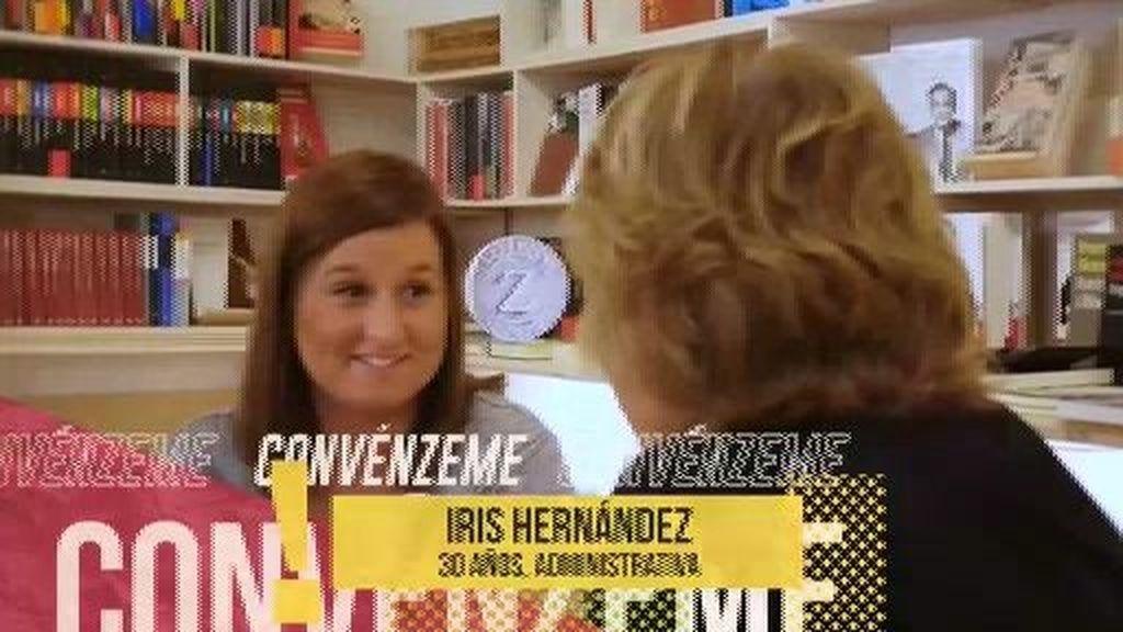 """Iris habla de las novelas románticas: """"Cuando todas tienen final feliz, te agobias"""""""