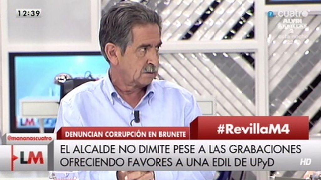 """M.A. Revilla: """"A mí, en el año 87, me ofrecieron 100 millones de pesetas"""""""
