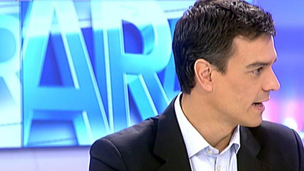 """Pedro Sánchez: """"Aspiro a ser la imagen del cambio que necesita el PSOE"""""""